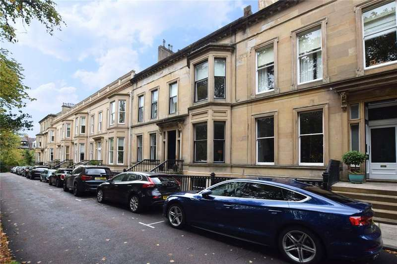 3 Bedrooms Apartment Flat for sale in Ground Garden, Queens Gardens, Dowanhill, Glasgow