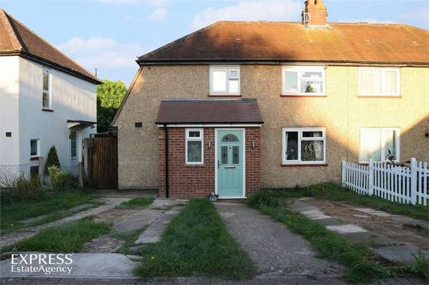 2 Bedrooms Semi Detached House for sale in Campfield Road, Hertford