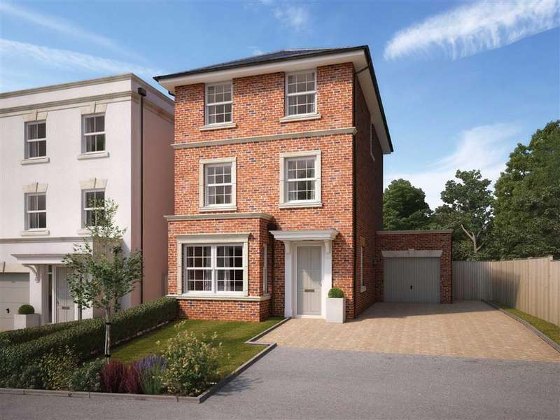 4 Bedrooms Detached House for sale in Woodhill, Brownhill Road, Chandlers Ford, Hampshire