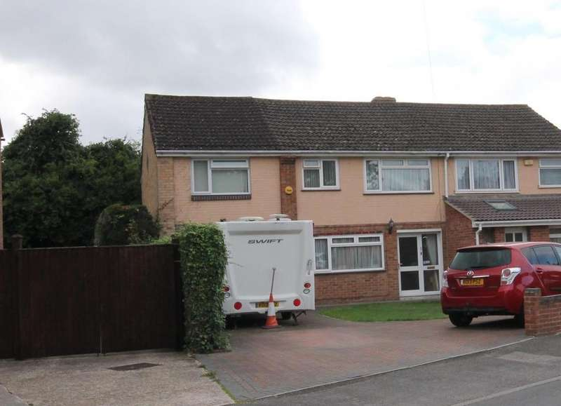 4 Bedrooms Semi Detached House for sale in Beta Road, Farnborough