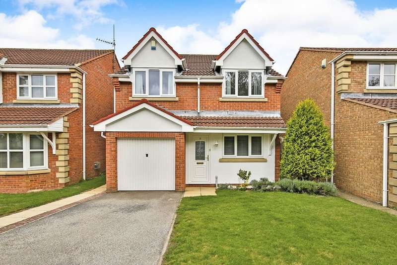 3 Bedrooms Detached House for sale in Kerryhill Drive, Pity Me, Durham, DH1