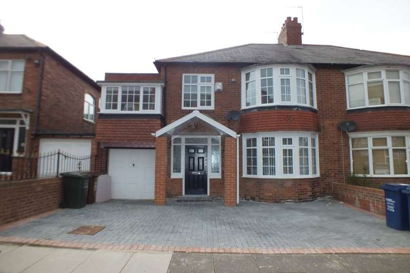4 Bedrooms Semi Detached House for sale in Grange Road, Fenham, Newcastle Upon Tyne, NE4