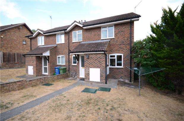2 Bedrooms End Of Terrace House for sale in Waltham Close, Heath Park, Sandhurst