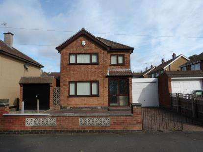 3 Bedrooms Detached House for sale in New Romney Crescent, Leicester, Leicestershire, England