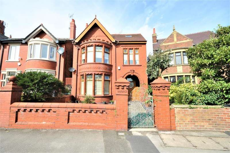 5 Bedrooms Detached House for sale in Leamington Road, Stanley Park, Blackpool, Lancashire, FY1 4HD