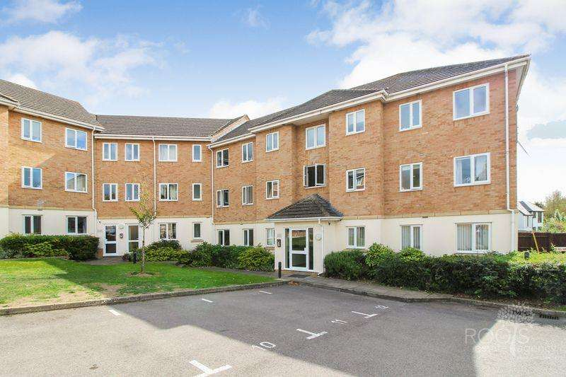 2 Bedrooms Apartment Flat for sale in Saxon Court, Thatcham
