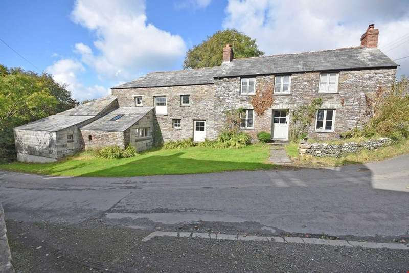 5 Bedrooms Detached House for sale in Treworld, Nr. Boscastle, Cornwall, PL35
