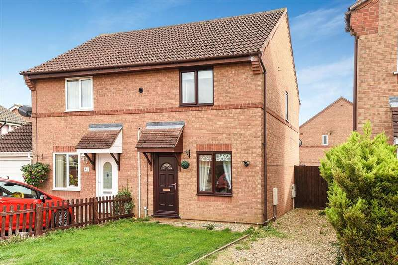 2 Bedrooms Semi Detached House for sale in Winchester Way, Sleaford, NG34