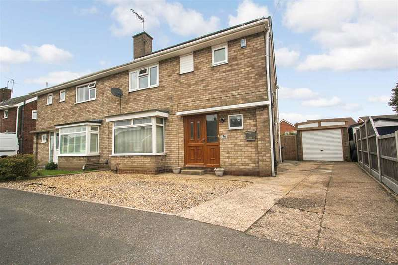 3 Bedrooms Semi Detached House for sale in Matlock Drive, North Hykeham, Lincoln