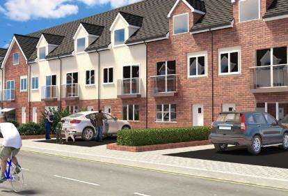 3 Bedrooms End Of Terrace House for sale in Britannia Gate, Palgrave Road, Bedford