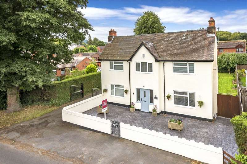4 Bedrooms Detached House for sale in Donnerville Farm House, Wellington Road, Admaston, Telford, Shropshire, TF5