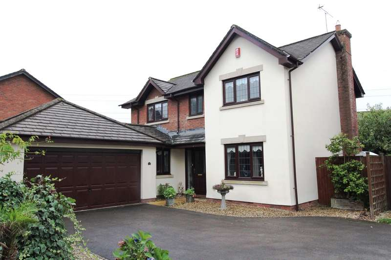 4 Bedrooms Detached House for sale in East Lynne Gardens, Caerleon, Newport, NP18