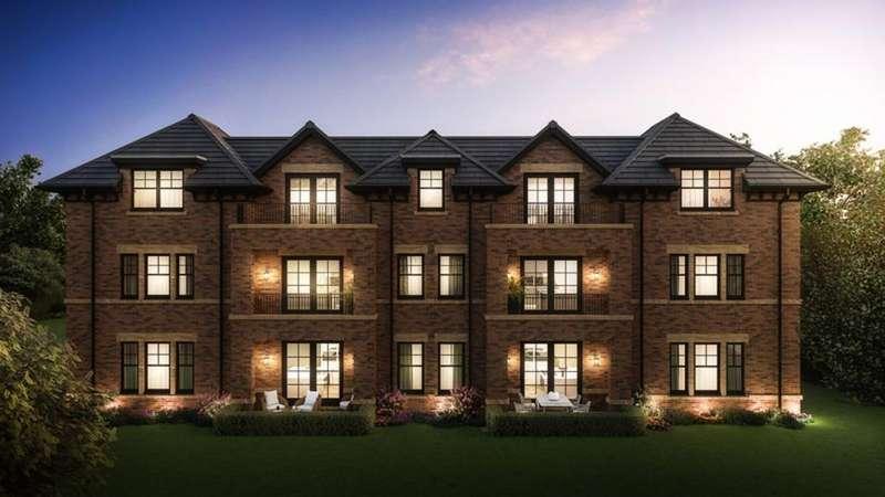 3 Bedrooms Ground Flat for sale in Fernleigh House, Alderley Road, Wilmslow