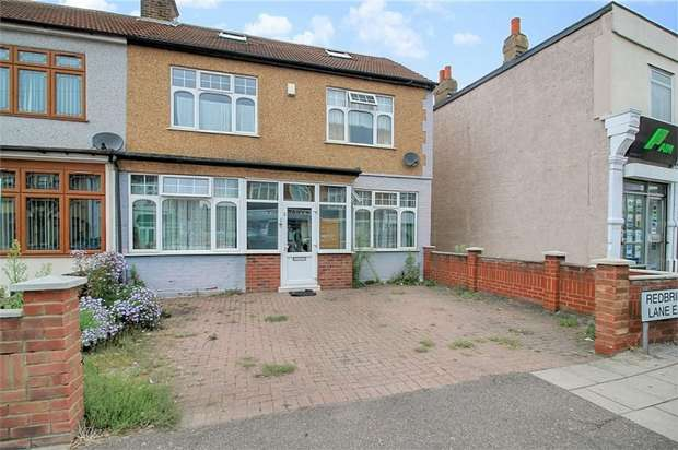 5 Bedrooms End Of Terrace House for sale in Redbridge Lane East, Ilford, Essex