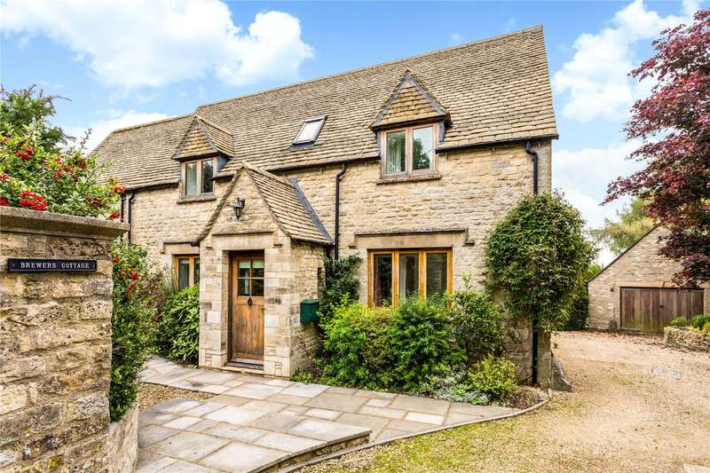 4 Bedrooms Detached House for sale in Duntisbourne Abbots, Cirencester, Gloucestershire, GL7