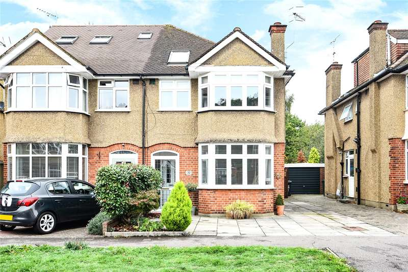 4 Bedrooms Semi Detached House for sale in Frankland Close, Croxley Green, Rickmansworth, Hertfordshire, WD3