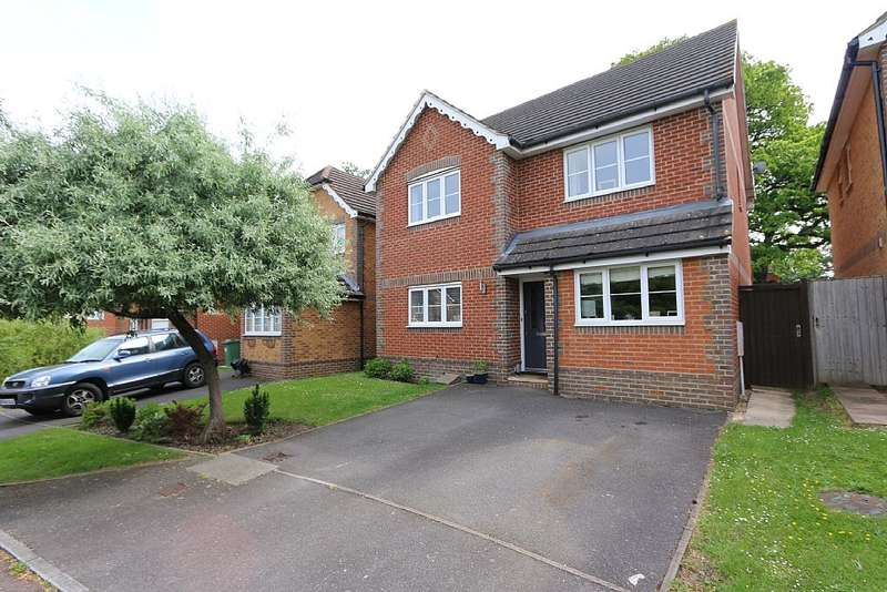 4 Bedrooms Detached House for sale in Faithfull Close, BRACKNELL, Berkshire, RG42 2QJ