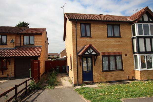 3 Bedrooms Semi Detached House for sale in Willow Walk, Syston, LE7