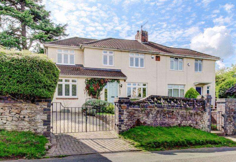 3 Bedrooms Semi Detached House for sale in Knoll Hill, Sneyd Park