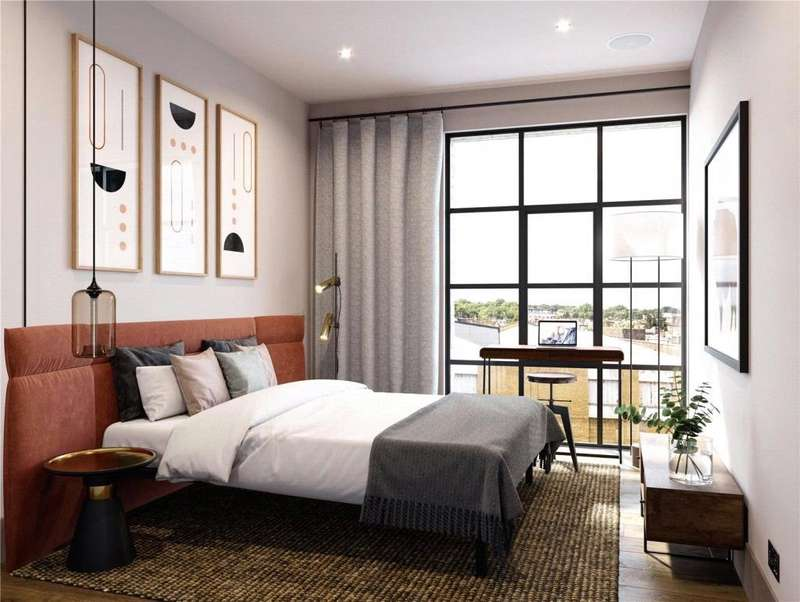 2 Bedrooms Flat for sale in Eagle Wharf Road, London, N1