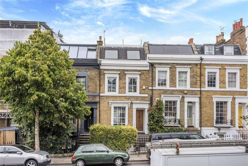 3 Bedrooms Terraced House for sale in Leighton Road, Kentish Town, London