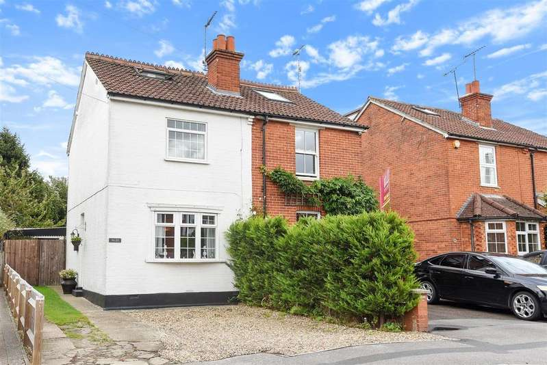 3 Bedrooms Semi Detached House for sale in Pinewood Avenue, Crowthorne, Berkshire RG45 6RR