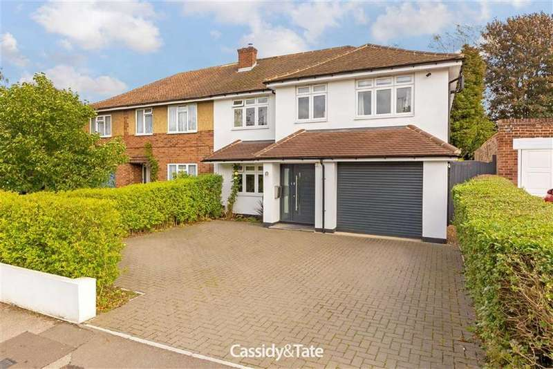 5 Bedrooms Semi Detached House for sale in Sherwood Avenue, St Albans, Hertfordshire