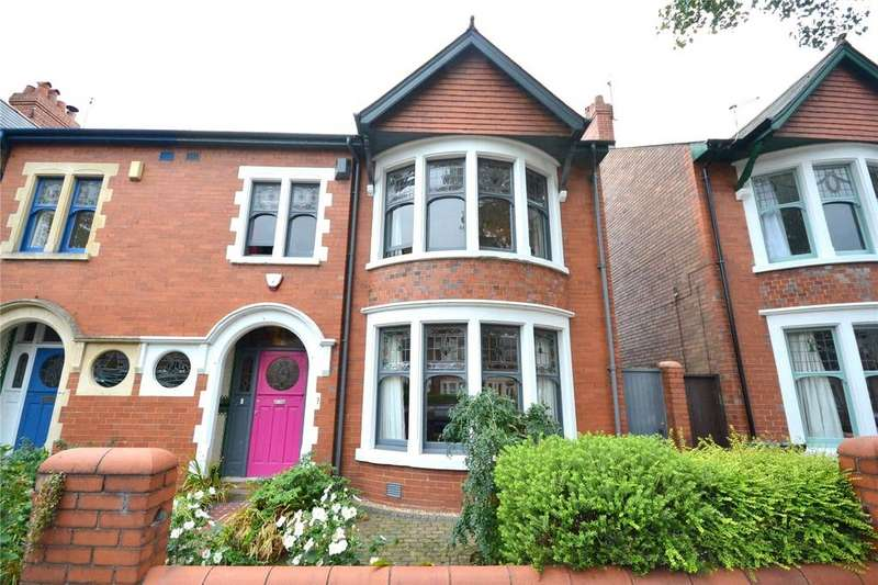 5 Bedrooms End Of Terrace House for sale in Princes Street, Roath, Cardiff, CF24