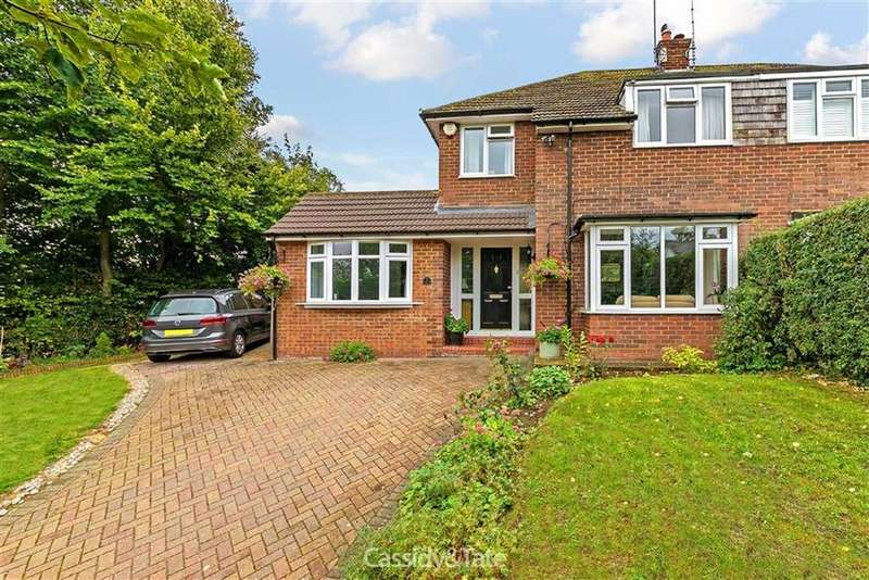 4 Bedrooms Semi Detached House for sale in Brewhouse Hill, Wheathampstead, Hertfordshire