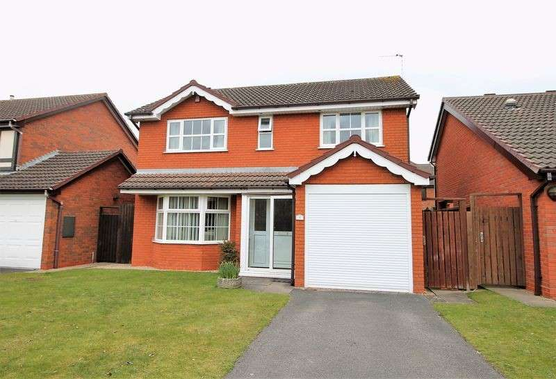 4 Bedrooms Detached House for sale in Newstead Road, Barnwood,Gloucester