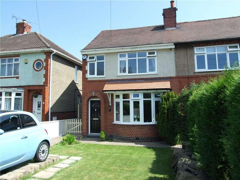 3 Bedrooms Semi Detached House for sale in Birchwood Lane, South Normanton, Alfreton, Derbyshire, DE55