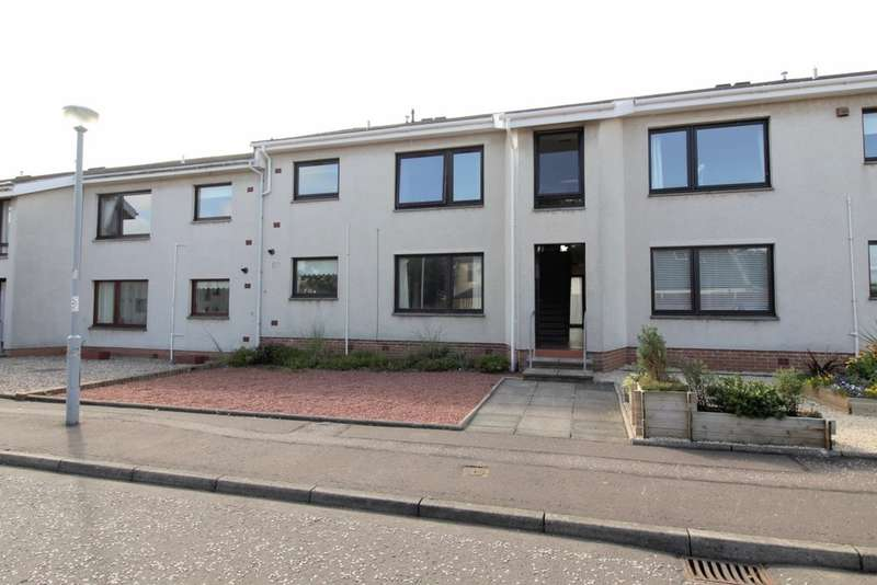2 Bedrooms Ground Flat for sale in Briarhill Court, Prestwick, KA9