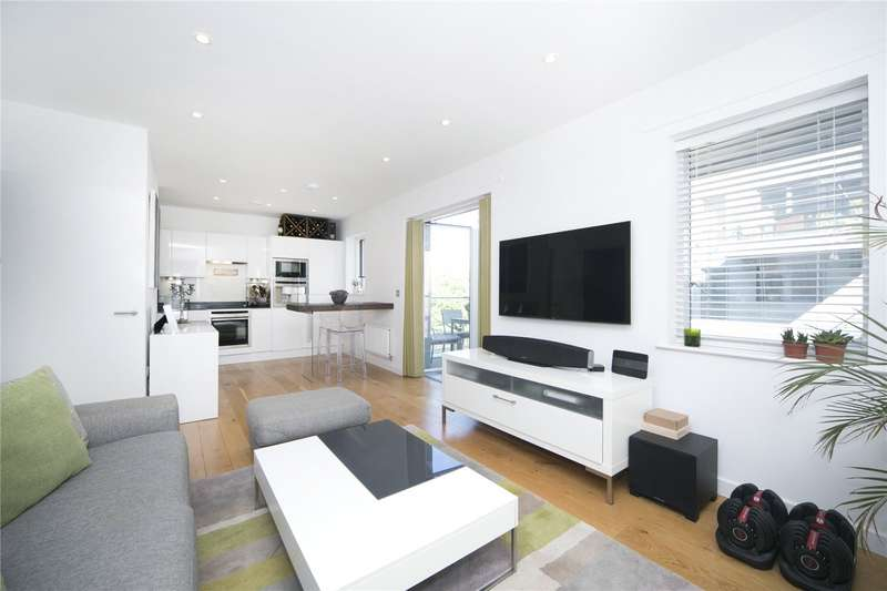 1 Bedroom Flat for sale in Macclesfield Apartments, 12 Branch Place, N1