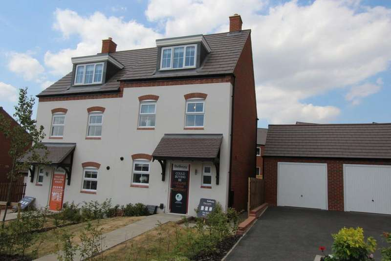3 Bedrooms Town House for sale in Ashtree Gardens, Ashby-de-la-Zouch