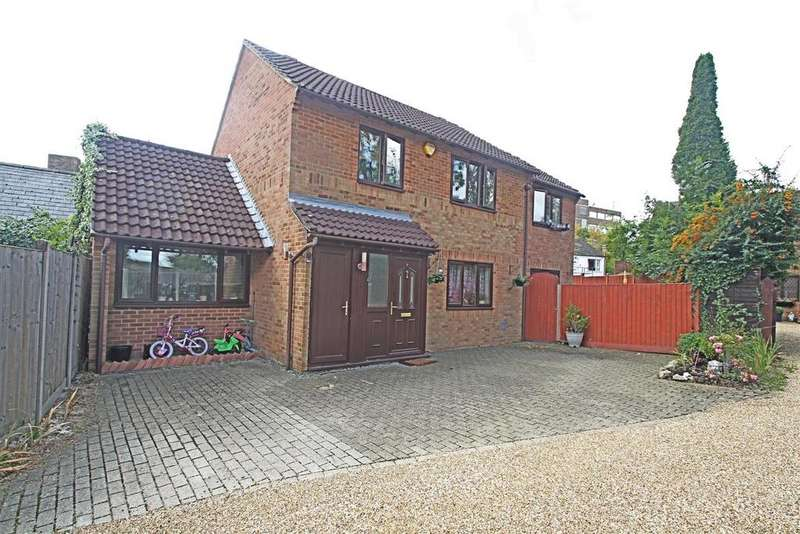 4 Bedrooms Detached House for sale in Bristow Close, Bletchley, Milton Keynes
