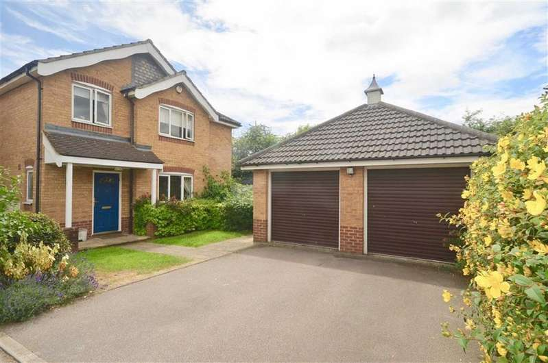 4 Bedrooms Detached House for sale in Suffolk Close, St Albans, Hertfordshire