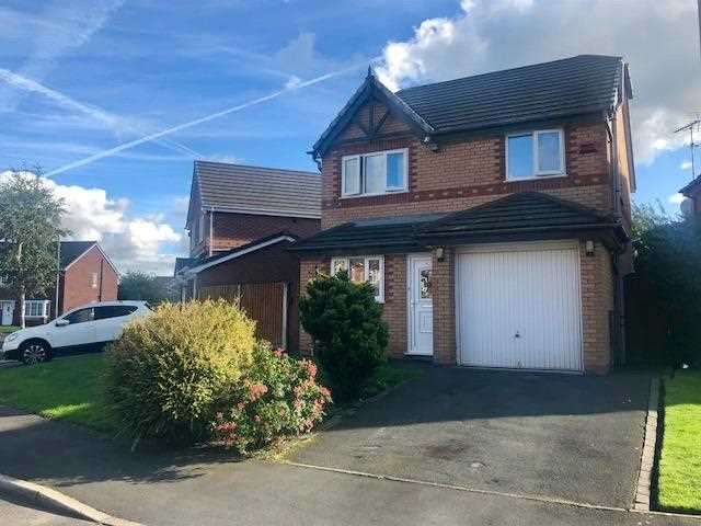 3 Bedrooms Detached House for sale in Fourfields, Bamber Bridge