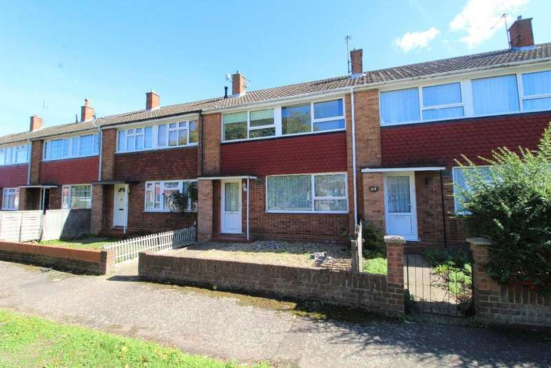 3 Bedrooms Terraced House for sale in Kimble Drive, Bedford MK41