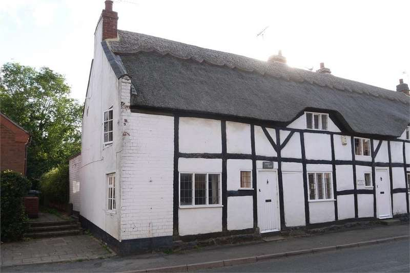 2 Bedrooms Cottage House for sale in Tansleys Thatch Cottage, Main Street, Gilmorton, Lutterworth, Leicestershire