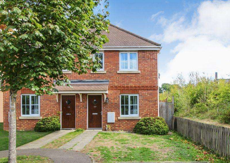 2 Bedrooms Semi Detached House for sale in Battalion Way, Thatcham