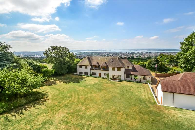 5 Bedrooms Detached House for sale in Nelson Lane, Fareham, Hampshire, PO17
