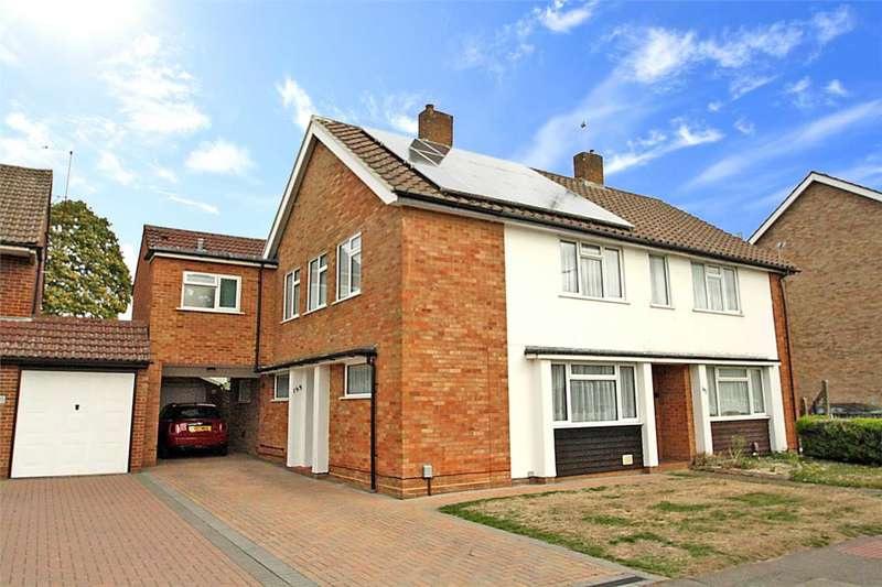 4 Bedrooms Semi Detached House for sale in Silverdale Road, Earley