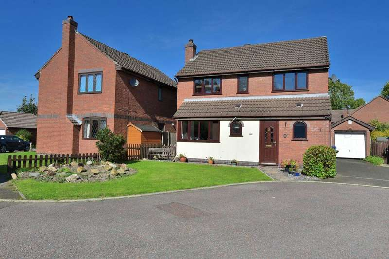 4 Bedrooms Detached House for sale in Kedleston Green, Offerton, Stockport, Cheshire, SK2 5DQ