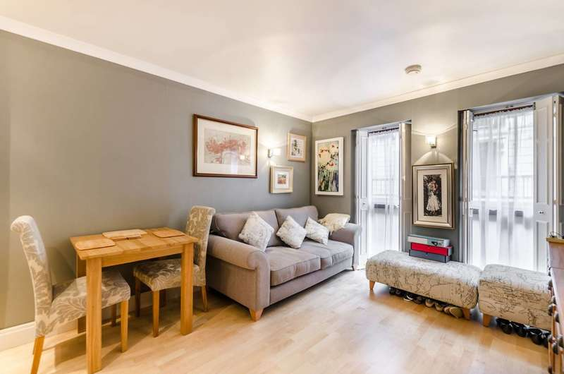 1 Bedroom Flat for sale in Craven Street, Charing Cross, WC2N