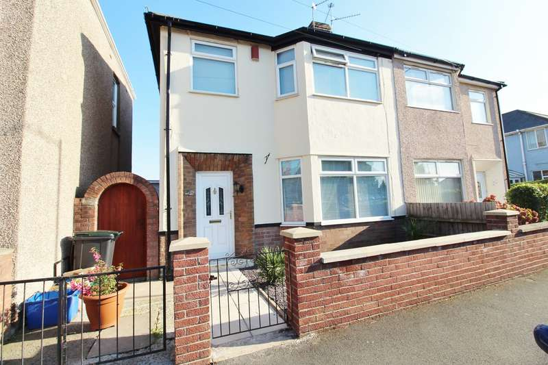 3 Bedrooms Semi Detached House for sale in Collingwood Road, Newport, NP19