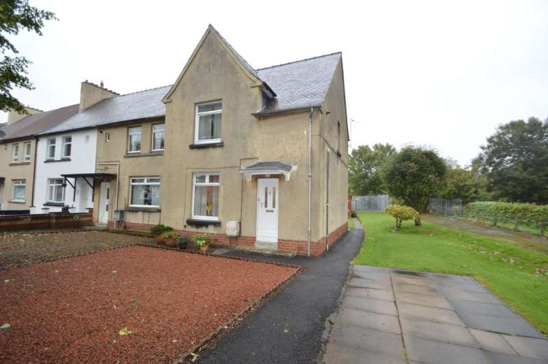 3 Bedrooms Terraced House for sale in Clark Drive, Irvine, North Ayrshire, KA12 0NS