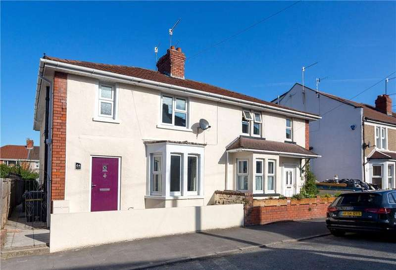 4 Bedrooms Semi Detached House for sale in Foxcote Road, Ashton, Bristol, BS3