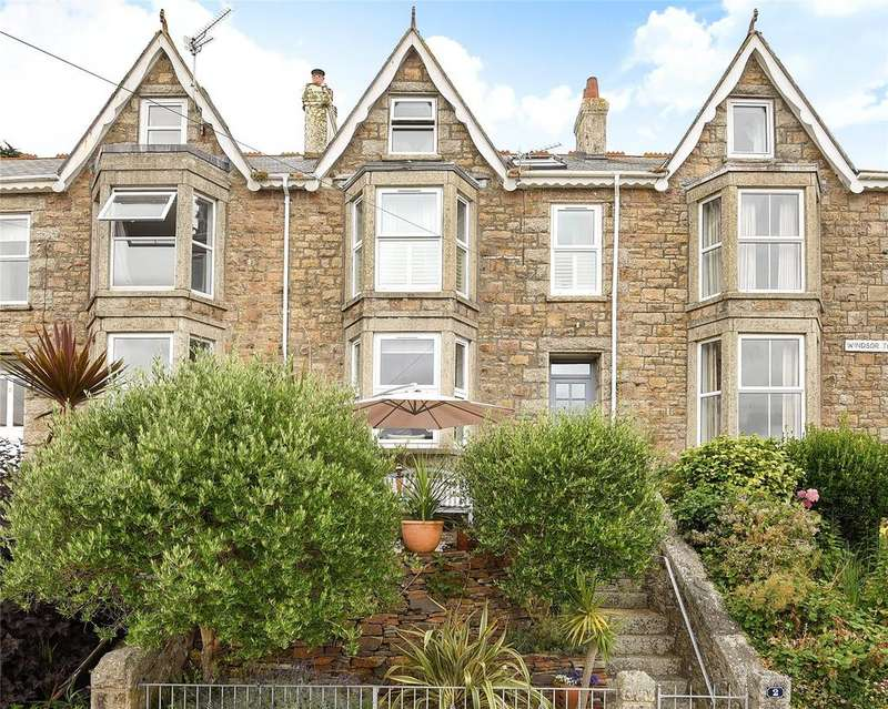 4 Bedrooms Terraced House for sale in Windsor Terrace, St. Ives, Cornwall, TR26