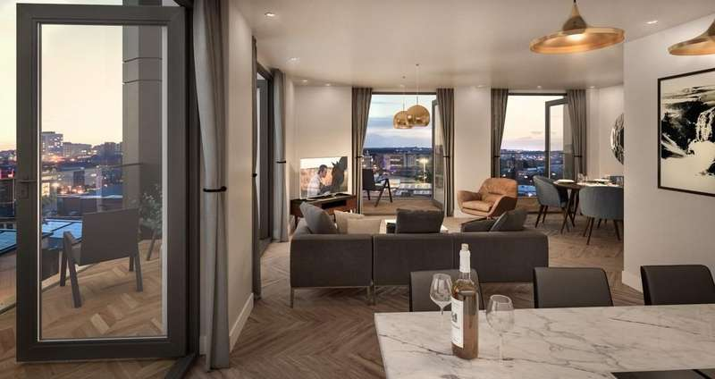 3 Bedrooms Apartment Flat for sale in 3 bedroom Penthouse Unit Southbank