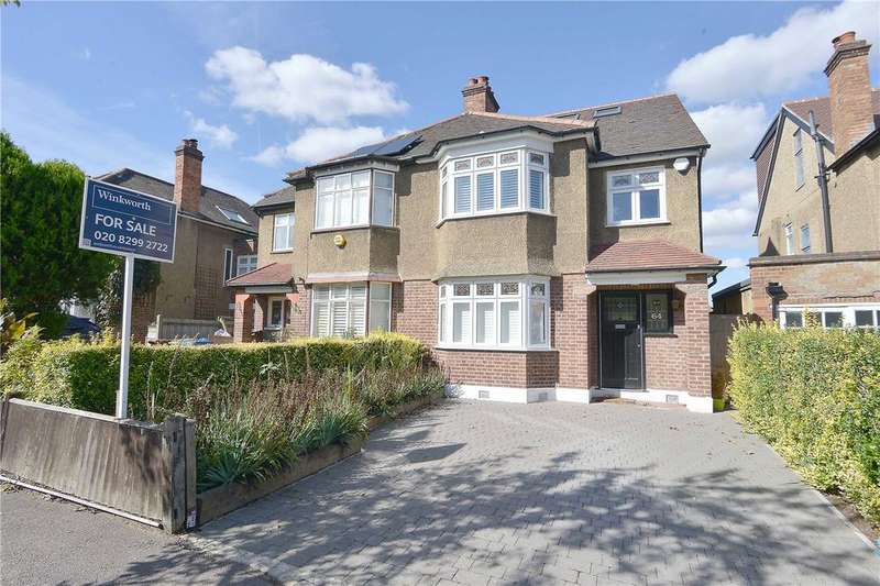 4 Bedrooms Semi Detached House for sale in Therapia Road, East Dulwich, London, SE22